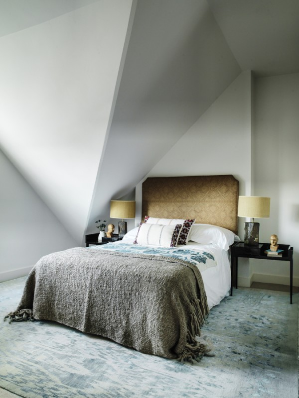 Tamzin Greenhill - London - Guest Bedroom diagonal