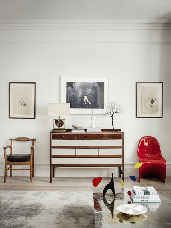 Tamzin Greenhill - London - Living room Cabinet and chairs