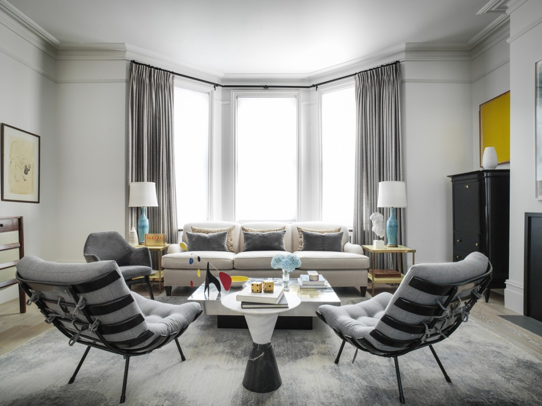 Tamzin Greenhill - London - Living room wide