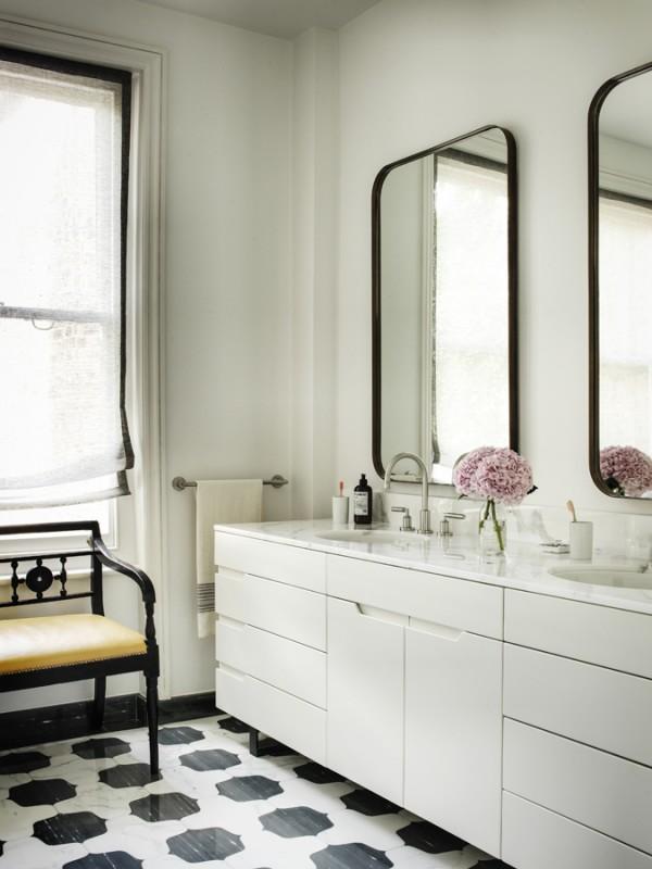 Tamzin Greenhill - London - Vanity Unit Bathroom diag